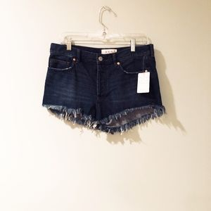 Free People cut off shorts NWT